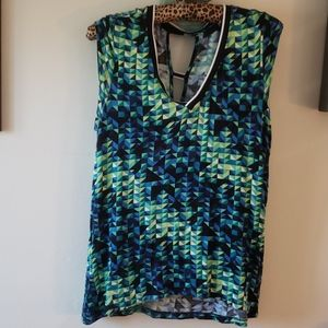 RO & DE colorful blouse Small